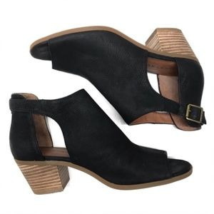 Lucky Brand Cut-Out Booties